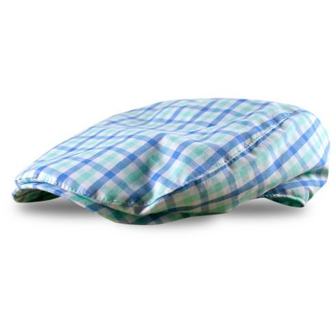 Toddler Boys  Plaid Newsboy Hat Blue - Cherokee®   Target 306f43e05ea