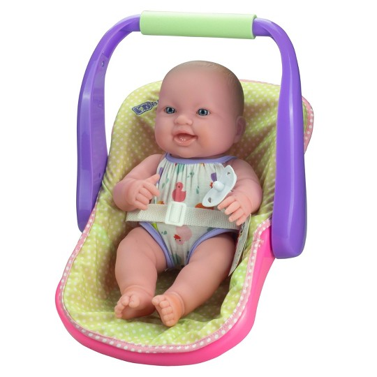 """JC Toys Lots to Love 14"""" Baby Doll with Carrier image number null"""