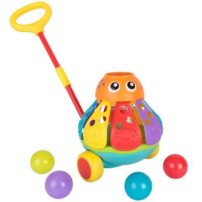 Playgro Push Along Ball Popping Octopus