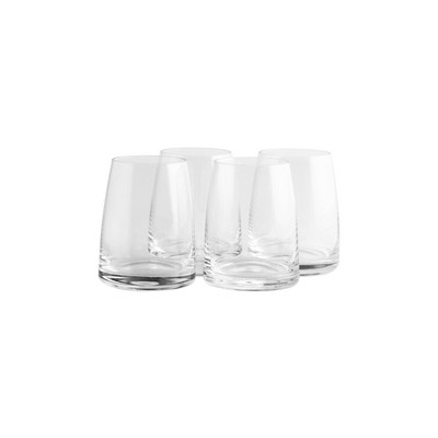 11.5oz 4pk Crystal Double Old-Fashioned Glasses - Stoelzle