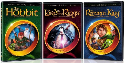 Lord of the rings/Hobbit/Return of th (DVD) - image 1 of 1