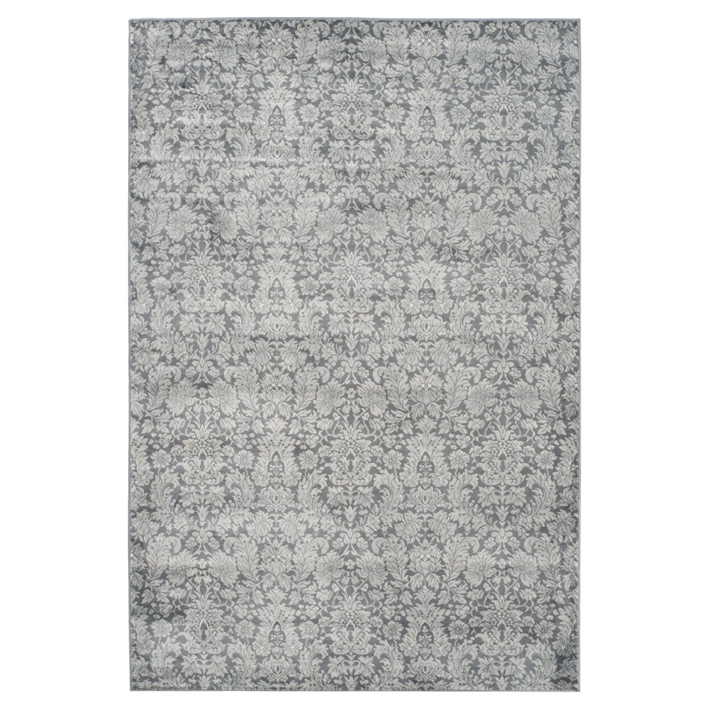Branco Vintage Area Rug - Dark Gray / Light Gray ( 4' X 5' 7 ) - Safavieh