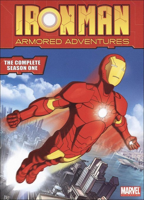 Iron man:Armored adventures com ssn 1 (DVD) - image 1 of 1