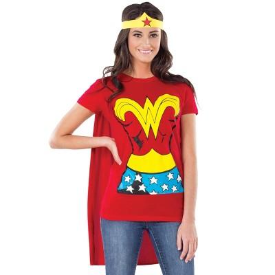 Rubies Wonder Woman T-Shirt Adult Costume Kit