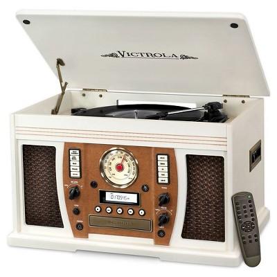 Vinyl Turntable Victrola   White by Victrola