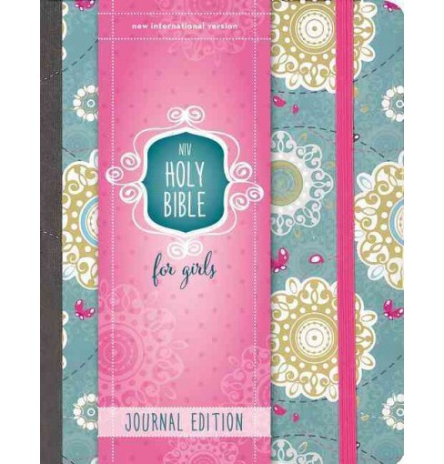 Holy Bible : New International Version, Journal Edition, For Girls (Hardcover) - image 1 of 1