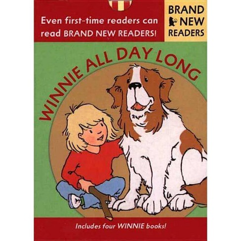 Winnie All Day Long - (Brand New Readers) by  Leda Schubert (Mixed media product) - image 1 of 1