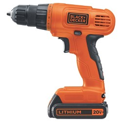 BLACK+DECKER 20V Max Lithium Drill Kit