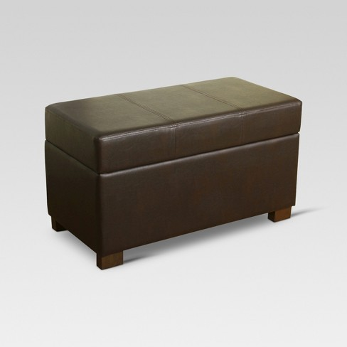 Essex Basic Storage Bench - Threshold™ - image 1 of 3