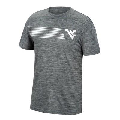 NCAA West Virginia Mountaineers Men's Mesh Gray T-Shirt