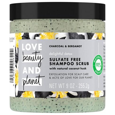Love Beauty and Planet Delightful Detox Charcoal Shampoo Scrub - 8oz - image 1 of 4
