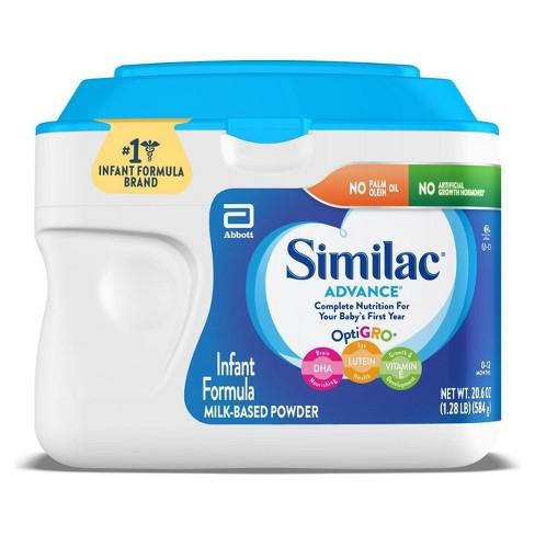 Similac Advance Infant Formula with Iron Powder - (Select Size) - image 1 of 4