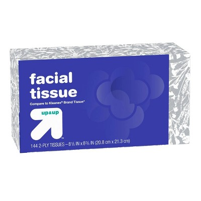 Tissues: up & up Facial Tissue