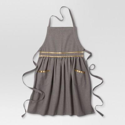 Gray Cooking Apron - Threshold™