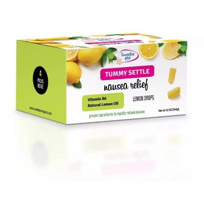 Sweetie Pie Organics Tummy Settle Nausea Relief - Lemon Drops - 12oz