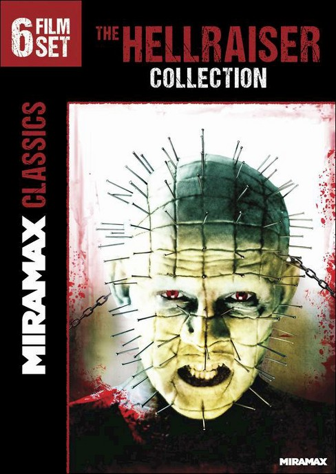 The Hellraiser Collection: 6 Film Set [2 Discs] (DVD) - image 1 of 1