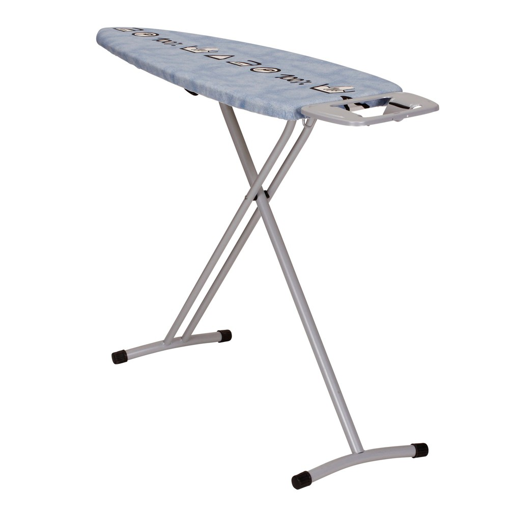 Household Essentials Grande Steel Top Ironing Board, Gray
