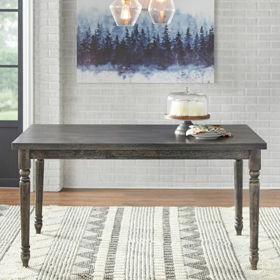 Burtwood Dining Table - Weathered Gray - Target Marketing Systems