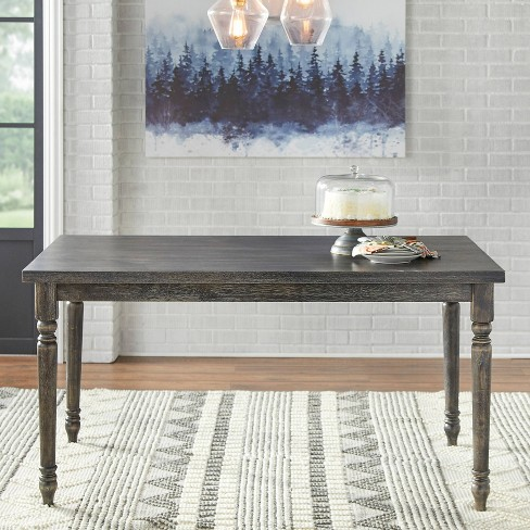 Burtwood Dining Table Weathered Gray Target Marketing Systems