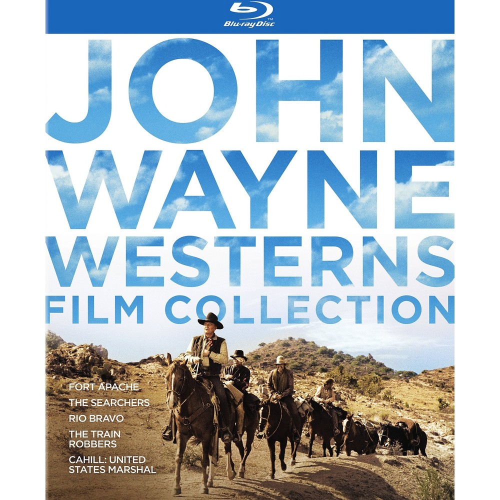 John Wayne Western Collection (Blu-ray)