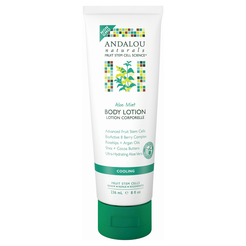Image of Andalou Naturals Cooling Body Lotion - Aloe Mint - 8 oz