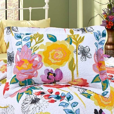 Lakeside Outdoor Lifestyles Themed Quilted Pillow Sham for Bedroom Decoration