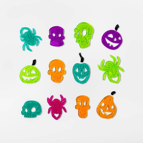 Spooky Icons Halloween Window Cling - Hyde & EEK! Boutique™ - image 1 of 1