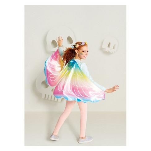 Girls' Pastel Unicorn Costume Wings - Hyde and Eek! Boutique™ - image 1 of 1
