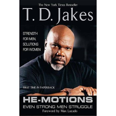 He-Motions - by  T D Jakes (Paperback)