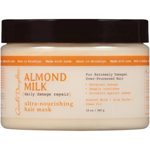 Carol's Daughter Almond Milk Daily Damage Repair Ultra Nourishing Hair Mask -12oz - image 1 of 4