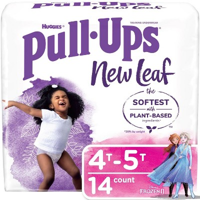 Huggies Pull Ups New Leaf Girls' Training Pants - (Select Size and Count)