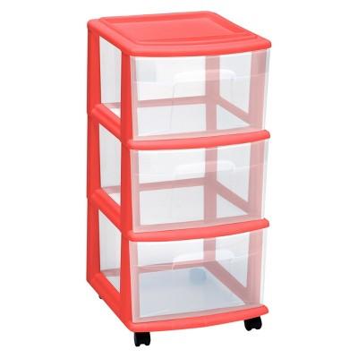 Utility Storage Carts Utility Bright Peach   Room Essentials™