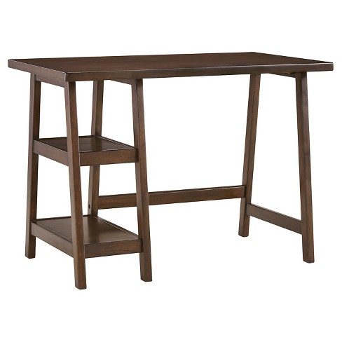 Lewis Home Office Small Desk Medium Brown - Signature Design by Ashley - image 1 of 4