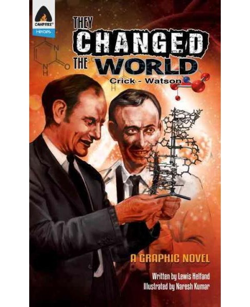 They Changed the World : Crick & Watson (Paperback) (Lewis Helfand) - image 1 of 1