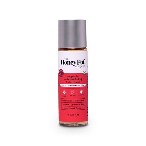 The Honey Pot Organic Water Based Personal Lube - Strawberry - 2 fl oz - image 1 of 4