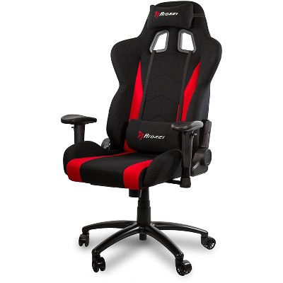 Arozzi Inizio Fabric Gaming Chair, Red (INIZIO-FB-RED)