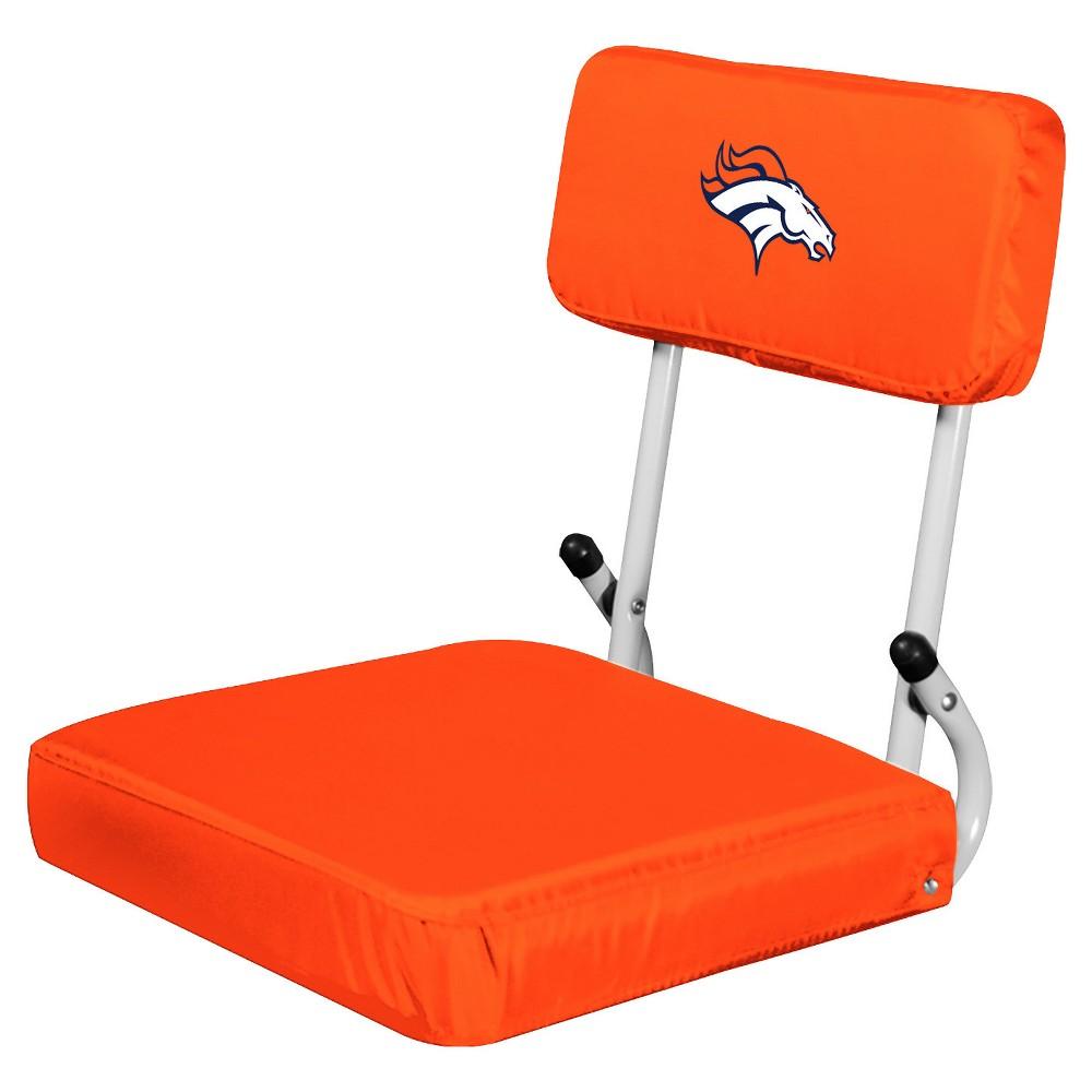 NFL Denver Broncos Portable Hardback Seat