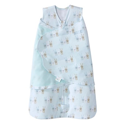 Halo Sleepsack Swaddle Cotton 3 Bunnies - Baby Blue - SM