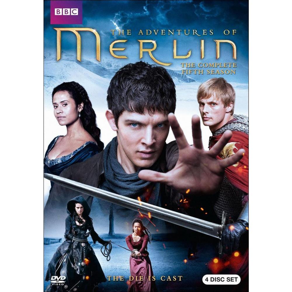 Merlin:Complete Fifth Season (Dvd)
