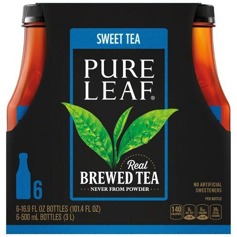 Pure Leaf Sweet Iced Tea - 6pk/16.9 oz Bottles - image 1 of 4