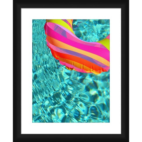 Fun In The Pool Framed and Matted Print - PTM Images - image 1 of 2