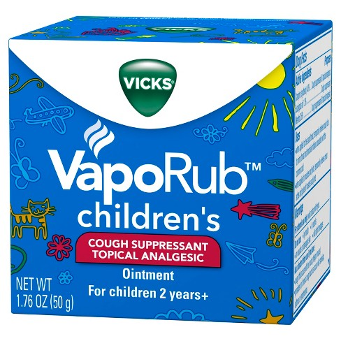 Vicks VapoRub, Children's Cough Suppressant - 1.76oz - image 1 of 3