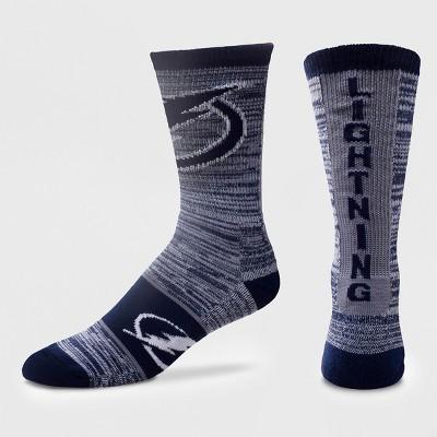 NHL Tampa Bay Lightning Ticket Crew Sock