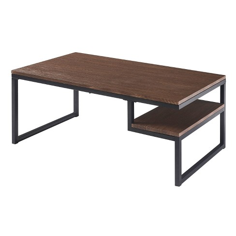 Industriale Coffee Table Walnut/Black - Versanora - image 1 of 4
