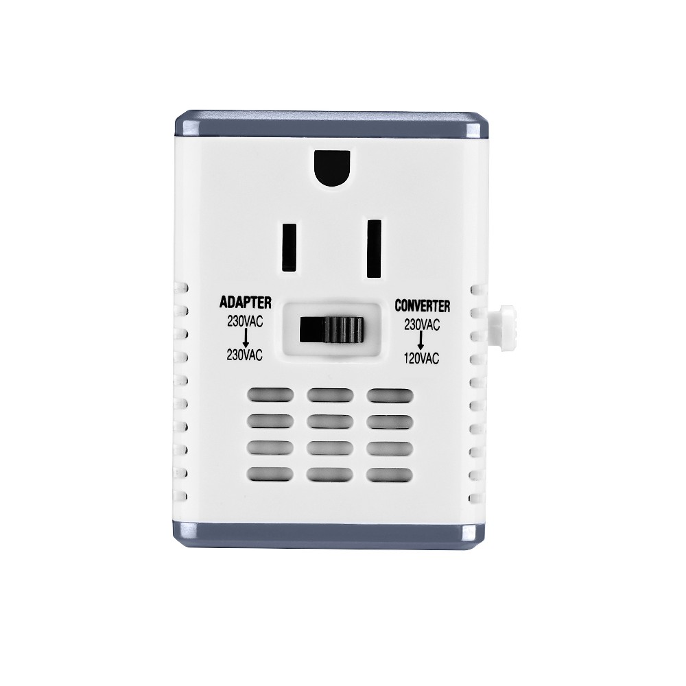Image of Travel Smart Compact Converter & Adapter Combo, White