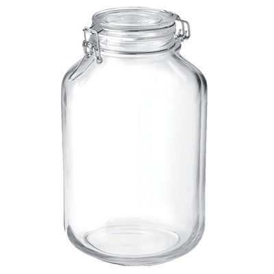 Bormioli Rocco 135.25oz Fido Clamp Canning Jar