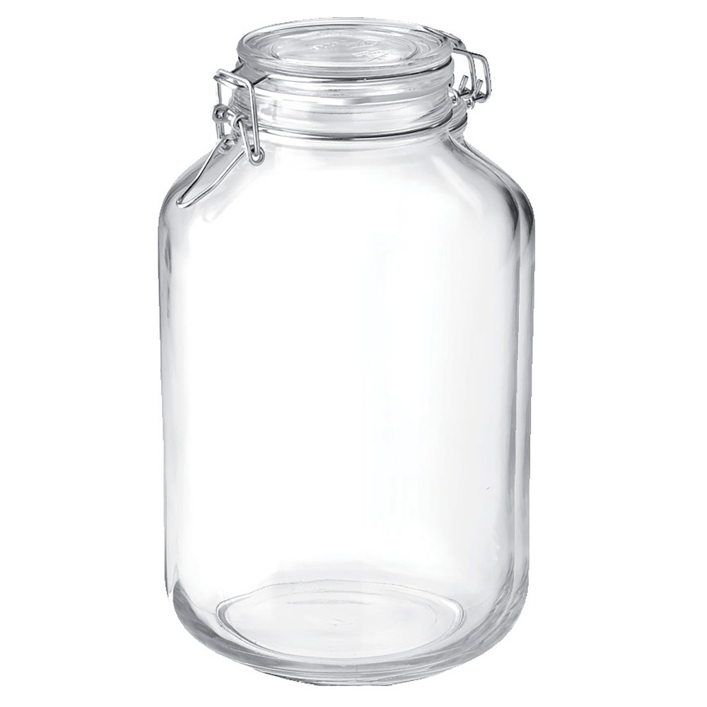 Image of Bormioli Rocco 135.25oz Fido Clamp Canning Jar, Clear