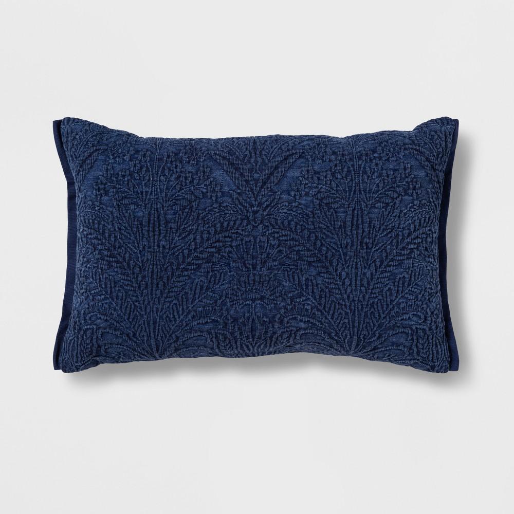 Decorative Throw Pillow Blue River Fog - Threshold