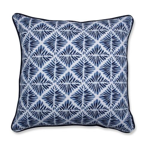 Gem Field Throw Pillow Indigo - Pillow Perfect - image 1 of 1