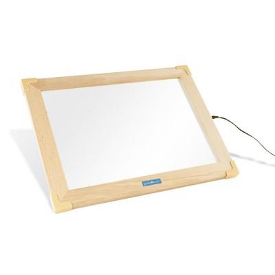 Guidecraft Ultra-slim LED Activity Tablet with Hardwood Beech Frame